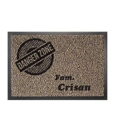 Covor intrare personalizat danger zone
