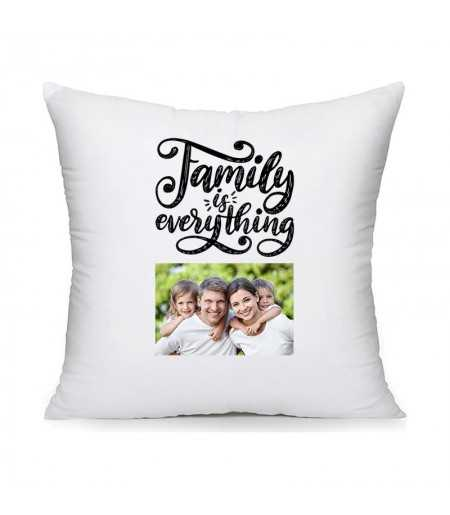 Perna personalizata cu poza family is everythings