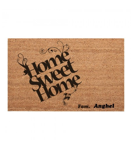 Covoras intrare exterior home sweet home